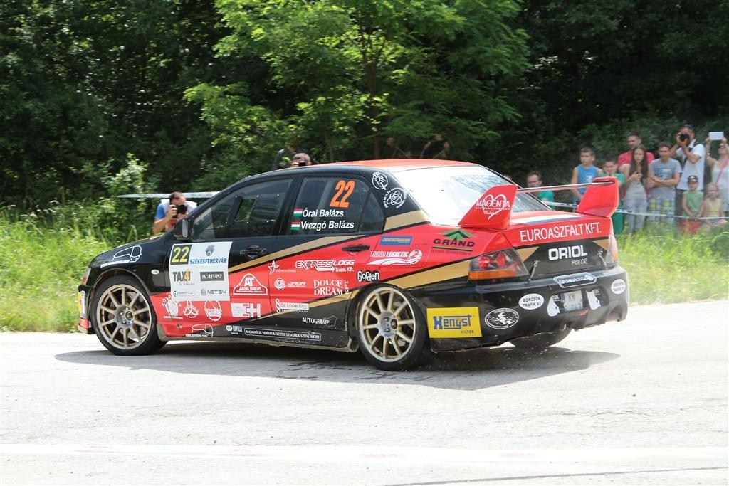 Maxx Race Team – 49. Léta-Ker Mecsek Rally Strider Zoltán – Koch Péter, Mitsubishi Lancer Evo IX