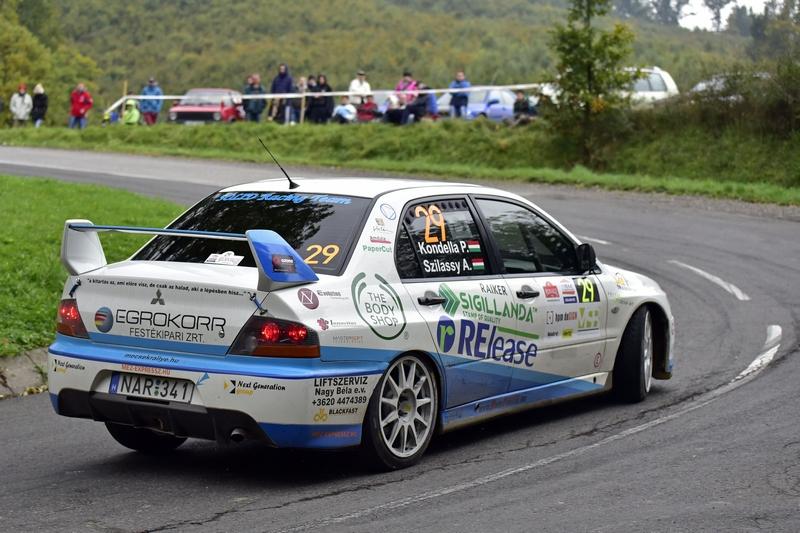 SOLID Racing Team – Mecsek Rallye 2015.10. 16-18.  Kondella Péter – Szilassy Arnold, Mitsubishi Lancer Evolution IX.