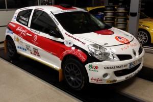 Juhász Csaba - Juhász Zsolt Crash-Men Team - Renault Clio R3 Mikulás Rally 2015.12.05-06.