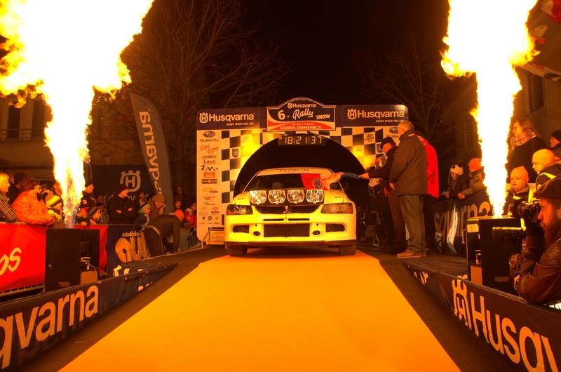 Várkonyi Szabolcs - Várkonyi-Cser Mónika Mitsubishi EVO IX. Santa Domenica Rally Show  2015.11.27-29.