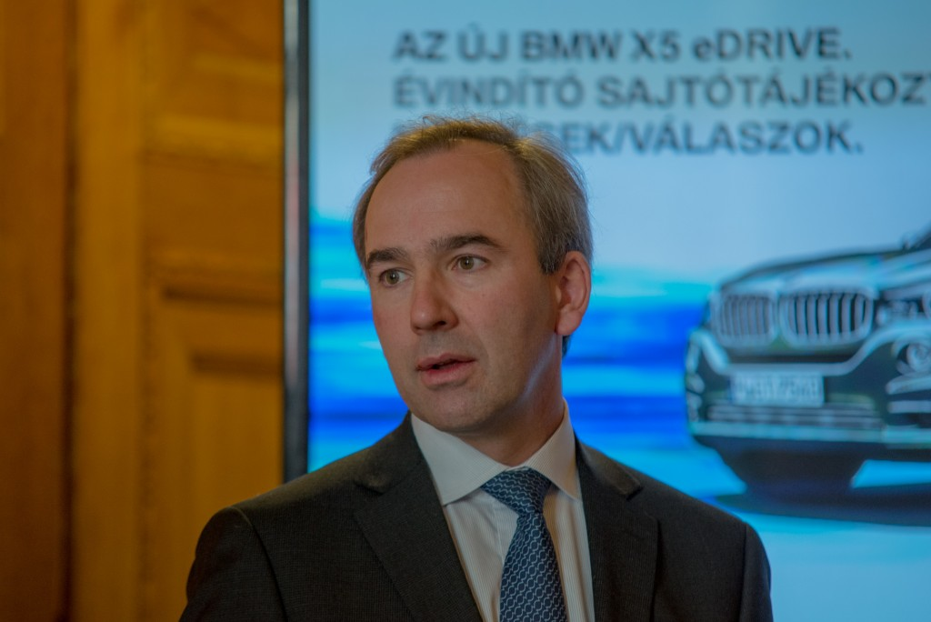 Baudouin Denis, a BMW Group Magyarország vezérigazgatója  Fotó: Juhász Melinda/www.amdala.hu