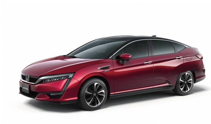 Global debut of Honda's all new FCV vehicle