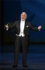 Plácido Domingo spanyol tenor a Shakespeare-estély operagálán a Magyar Állami Operaházban 2016. február 6-án. MTI Fotó: Máthé Zoltán