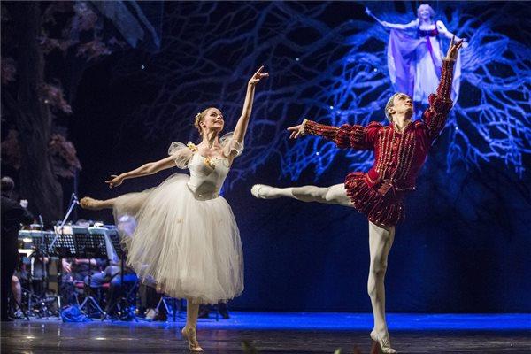 Jelenet a Jancsi és Juliska című előadásból az Operaházban 2016. február 7-én. A gyermekoperát több mint ezer hátrányos helyzetű gyerek láthatta a Klauzál Lions Klub szervezésében, a dalszínház támogatásával. MTI Fotó: Máthé Zoltán
