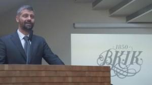 Szatmáry Kristóf elnök megnyitja a BKIK Budapest turizmusa 2020 konferenciáját