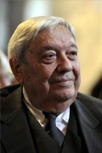 Életének 83. évében elhunyt Pozsgay Imre volt államminiszter. A felvétel 2015. szeptember 26-án készült Esztergomban. MTI Fotó: Kovács Attila