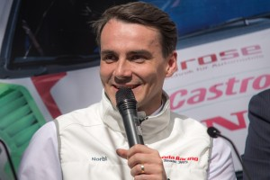 Michelisz Norbert, a Honda Racing Team JAS versenyzője Fotó: amdala.hu/Juhász Melinda