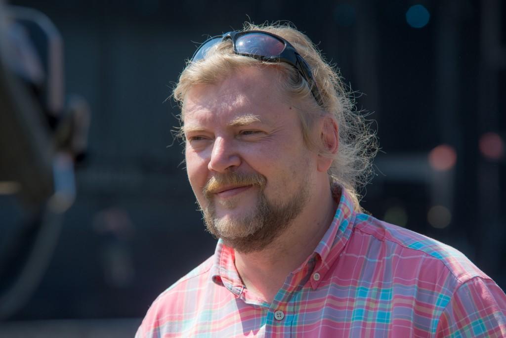 Gerendai Károly, a Sziget Kft. ügyvezető igazgatója Fotó: Juhász Melinda