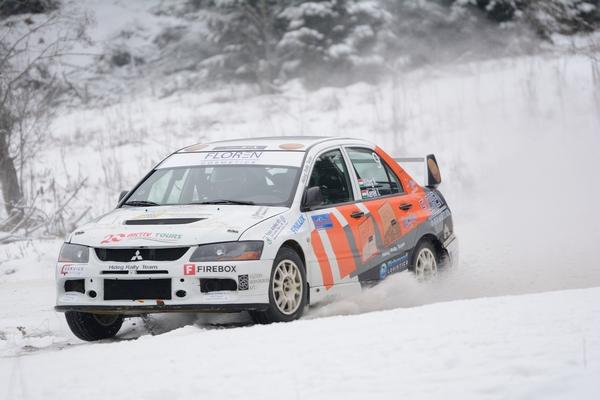 HIDEG RALLY TEAM – 10. Covasna Winter Rally Hideg Krisztián – Kerék István, Mitsubishi Lancer Evo IX R4