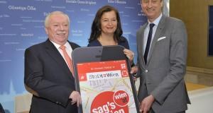 """Sima/Mailath-Pokorny: """"Sag's Wien"""" - neue App für Bürgeranliegen"""