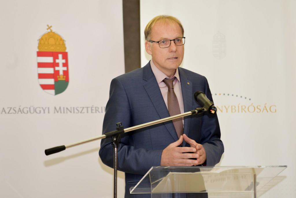 Darák Péter, a Kúria elnöke Fotó: Juhász Melinda