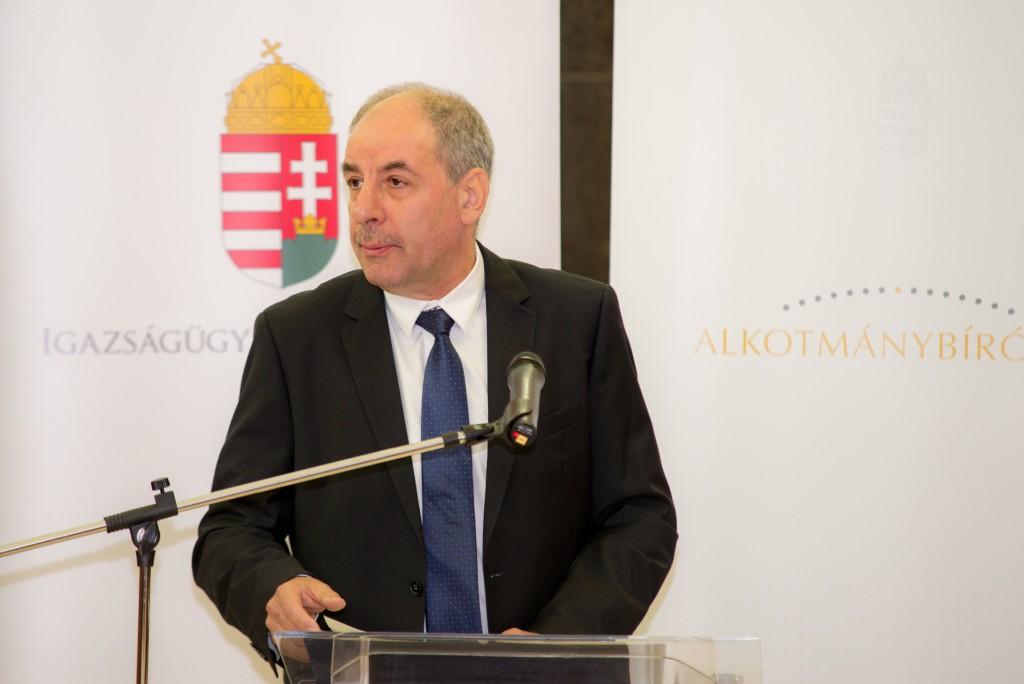 Sulyok Tamás, az Alkotmánybíróság elnöke Fotó: Juhász Melinda