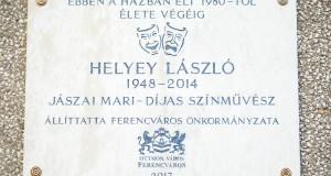 Helyey László emléktábla