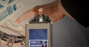 Ganczer Gábor, a Hungexpo vezérigazgatója Fotó: Juhász Melinda