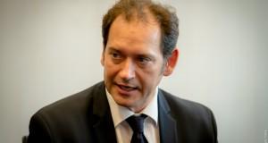 Török Zoltán, a Raiffeisen Bank vezető elemzője Fotó: Juhász Melinda