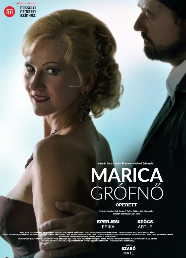 Marica grófnő plakát