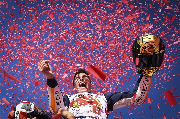 Marc Marquez wins the 2017 MotoGP World Championship