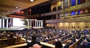A Prima Primissima Díj díjkiosztó gálaestjének résztvevői a fővárosi Müpában 2017. december 1-jén. MTI Fotó: Balogh Zoltán