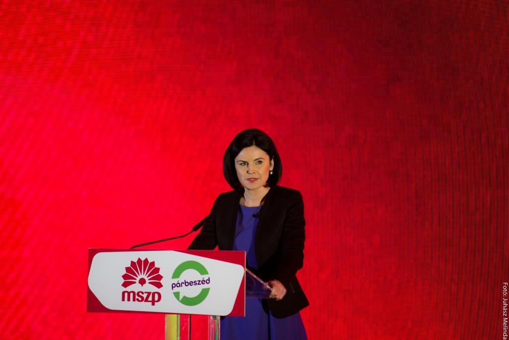 Kunhalmi Ágnes,  a Kulturális bizottság alelnöke Fotó: Juhász Melinda
