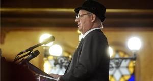 Tarlós István főpolgármester beszédet mond a budapesti gettó felszabadulásának 73. évfordulója alkalmából tartott megemlékezésen a Dohány utcai zsinagógában 2018. január 18-án. MTI Fotó: Koszticsák Szilárd