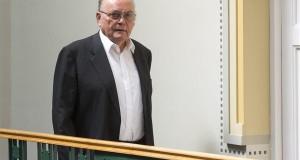 Életének 75. évében elhunyt Demján Sándor üzletember, a TriGranit Zrt. alapító elnöke. A felvétel Budapesten készült a TriGranit székházában 2015. augusztus 10-én. MTI Fotó: Illyés Tibor