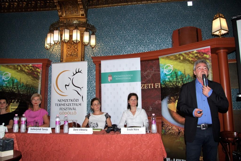 Nemzetközi Természetfilm Fesztivál sajtótájékoztató (2)