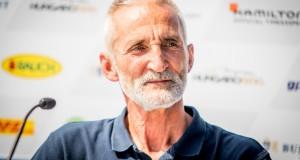 Besenyei Péter kiszámolta, hogy a 2000-ben rendezett első budapesti viadal óta 180 alkalommal repült el a Lánchíd alatt, ami a budapesti állomás fő attrakciója.  Fotó: Juhász Melinda