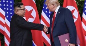 TRUMP, Donald; KIM Dzsong Un