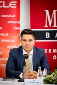 Balog Ádám az MKB Bank vezérigazgatója Fotó: Juhász Melinda