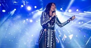 Rúzsa Magdi énekes koncertje a 29. Bálványosi Nyári Szabadegyetem és Diáktáborban (Tusványos) az erdélyi Tusnádfürdőn 2018. július 24-én. MTI Fotó: Veres Nándor