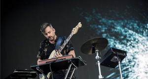 A brit Bonobo (Simon Green) zenész, dj-producer koncertje a Dan Panaitescu Nagyszínpadon a 26. Sziget fesztivál második napján az óbudai Hajógyári-szigeten 2018. augusztus 9-én. MTI Fotó: Sóki Tamás