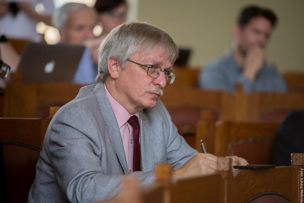 Dr. Herjeczki Kornél, a Harmat Kiadó ügyvezető igazagtója Fotó: Juhász Melinda