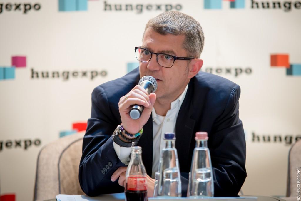 Ganczer Gábor a Hungexpo Zrt. vezérigazgatója Fotó: Juhász Melinda