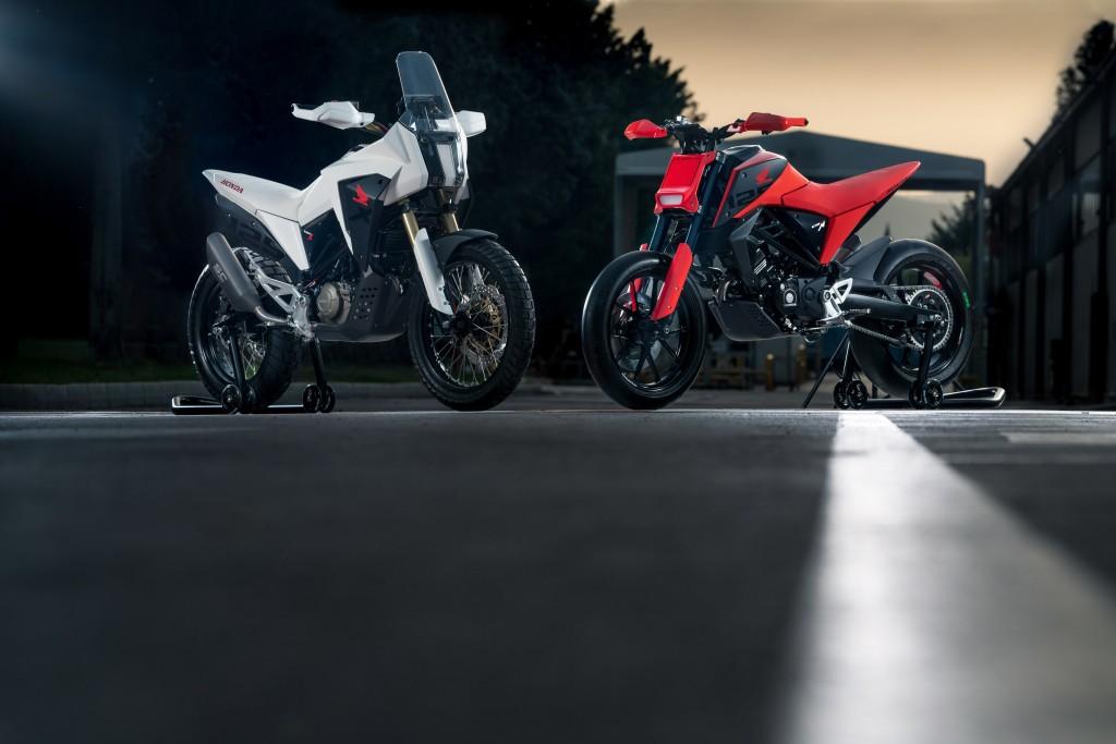 CB125M and CB125X Concepts