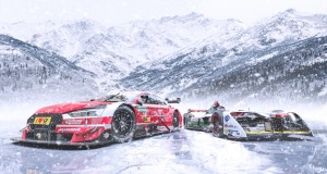 GP Ice Race 2019: Audi RS 5 DTM, Audi e-tron FE04