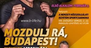 Mozdulj rá Budapest plakát első alkalom