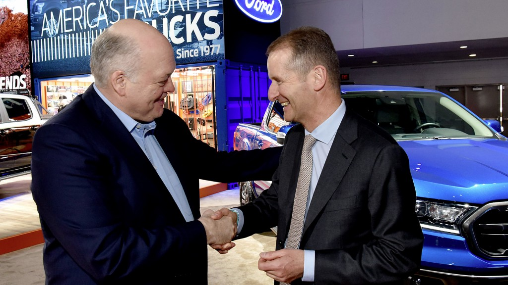 """Story """"Volkswagen and Ford launch global alliance"""""""