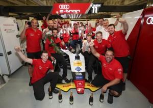 Audi Sport ABT Schaeffler, Lucas di Grassi, Daniel Abt