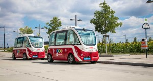 A Wiener Linien két autonóm e-busza © Wiener Linien / Manfred Helmer