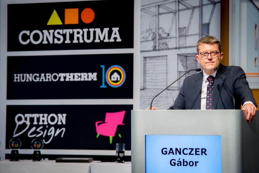 Ganczer Gábor, a Hungexpo Zrt. vezérigazgatója Fotó: Juhász Melinda