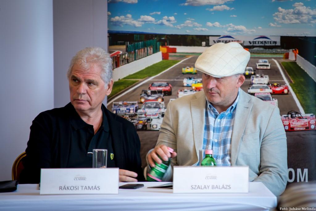 A Hungaroring Classic két magyar fő szervezője Rákosi Tamás és Szalay Balázs  Fotó: Juhász Melinda