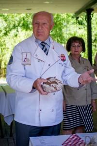 Ilonka Boldizsár, a Világ Pék- és Cukrászszövetség nagykövete és tiszteletbeli tagja, a Magyar Pékszövetség elnökségi tagja