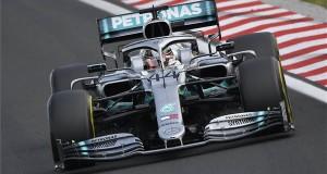 Lewis Hamilton, a Mercedes brit versenyzője a Forma-1-es Magyar Nagydíjon a mogyoródi Hungaroringen 2019. augusztus 4-én. MTI/Czeglédi Zsolt