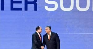 Orbán Viktor miniszterelnök (j) és Hou-lin Csao, a szervezet főtitkára a Nemzetközi Távközlési Egyesület (ITU) Telecom World 2019 konferenciájának megnyitóján a Hungexpo Budapesti Vásárközpontban 2019. szeptember 9-én. MTI/Koszticsák Szilárd