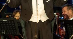 Plácido Domingo spanyol operaénekes a szegedi Szent Gellért Fórum ifjúsági és sportcentrum nyitókoncertjén 2019. augusztus 28-án este. MTI/Rosta Tibor