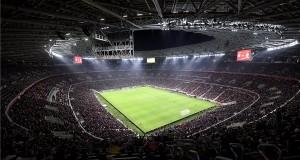 A Puskás Aréna avatóján játszott Magyarország - Uruguay barátságos labdarúgó-mérkőzés 2019. november 15-én. MTI/Illyés Tibor