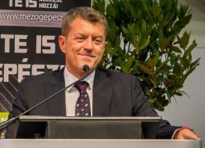 Ganzer Gábor, a Hungexpo Zrt. vezérigazgatója Fotó: Juhász Melinda