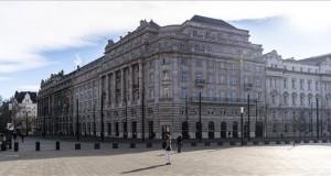 Az átadott Szabad György Irodaház, az Országgyűlés Hivatalának új, Kossuth téri épülete 2020. február 6-án. MTI/Szigetváry Zsolt