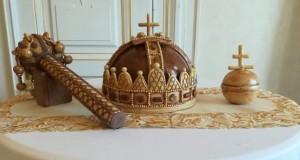 Rábai Gábor pékmester alkotása Fotó: Horváth Gábor Miklós