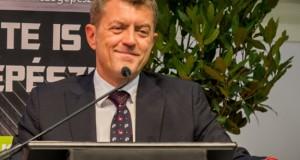 Ganczer Gábor, a Magyarországi Rendezvényszervezők és -szolgáltatók Szövetsége (MaReSz) elnöke Fotó: Juhász Melinda